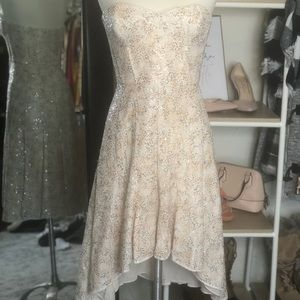 BCBC Sequin high low dress. NWT. Never worn.